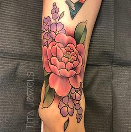 Floral Tattoo by Tita Jewels