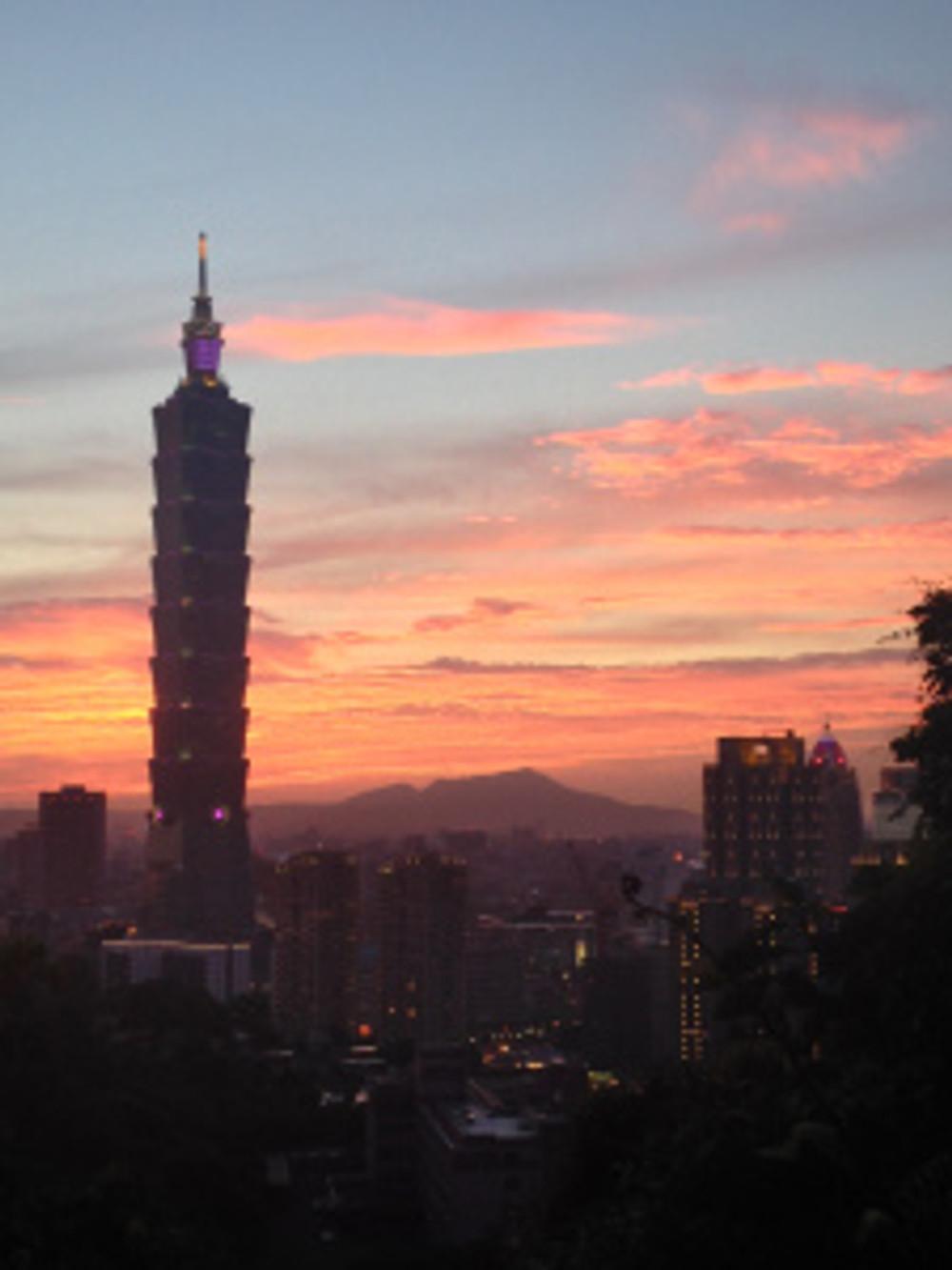 Elephant Mountain, Taipei Taiwan, Xiangshan, 象山