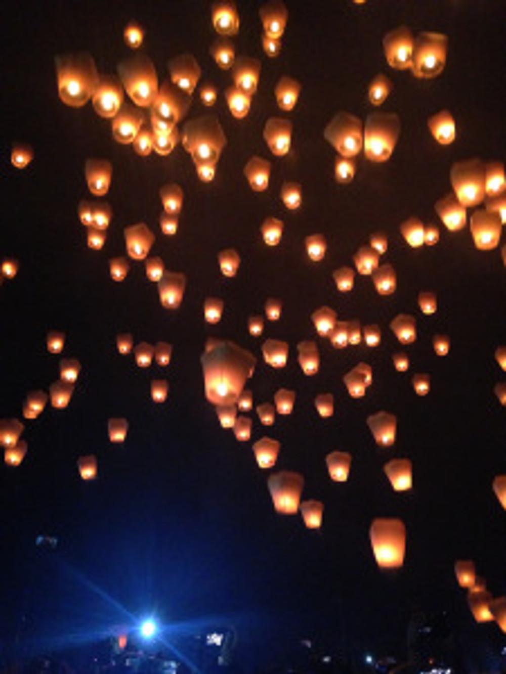pingxi lantern festival Taiwan