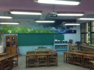 English classroom Taiwan