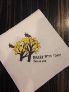 Shark Bites Toast Taiwan