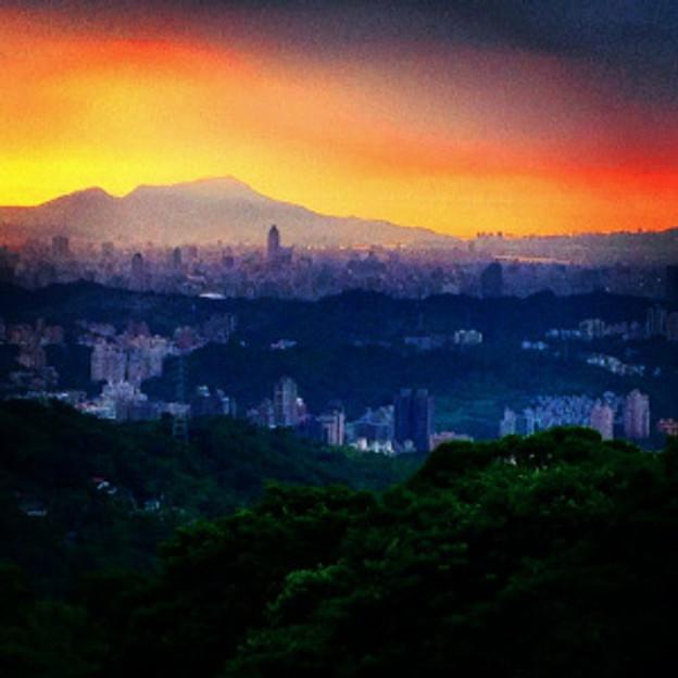 Maokong Gondola 貓空纜車 Sunset