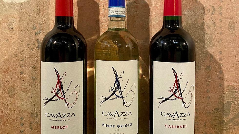 3 vína od vinařství Cavazza
