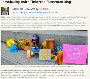 My First Tinkercad Blog Post