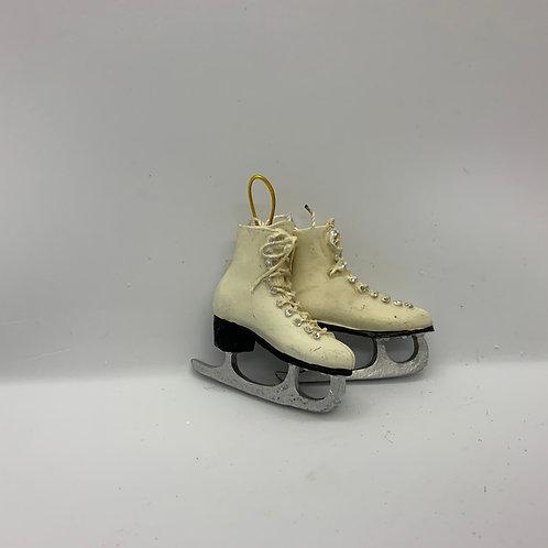Ornement des fêtes patins