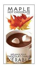 Chocolat chaud à l'érable Gourmet village