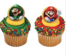 Bagues décoratives Mario Bros