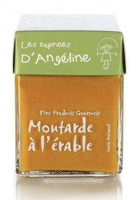 Moutarde à l'érable Les caprices d'Angéline