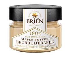 Beurre d'érable 180 g. Douceurs de l'érable Brien