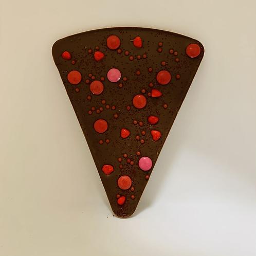 Pizza chocolat de la St-Valentin