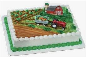 Gâteau La ferme