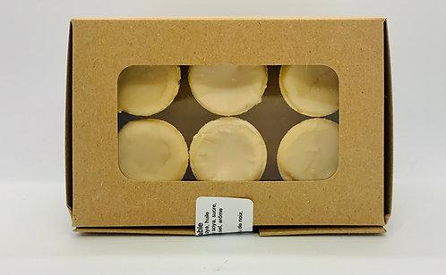 Boîte de 6 cornets de beurre d'érable
