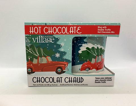 Ensemble tasse et mélange à chocolat chaud de Gourmet Village