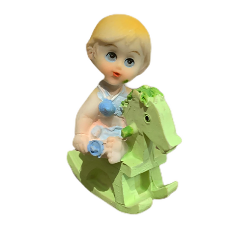 Bébé garçon décoration de gâteau