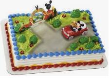 Gâteau Mickey et ses amis (Cueillette en magasin)