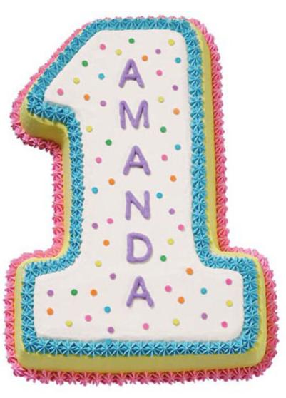 Moule à gâteau Chiffre 1  #78