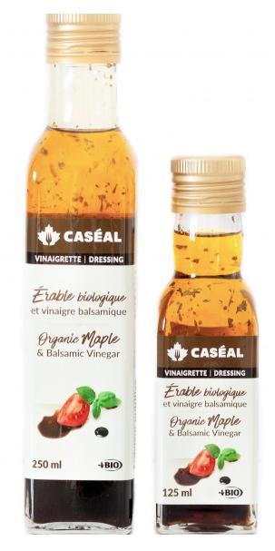 Vinaigrette érable biologique et vinaigre balsamique Caséal