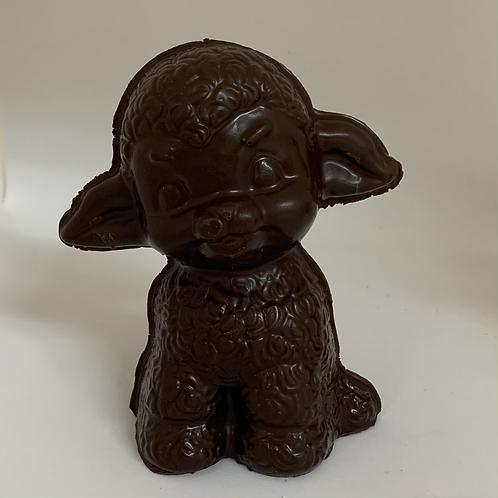 #23 mouton en chocolat noir sans sucre