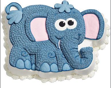 Moule à gâteau éléphant #77 (Cueillette en magasin)