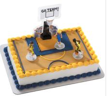 Gâteau Basketball Décopac