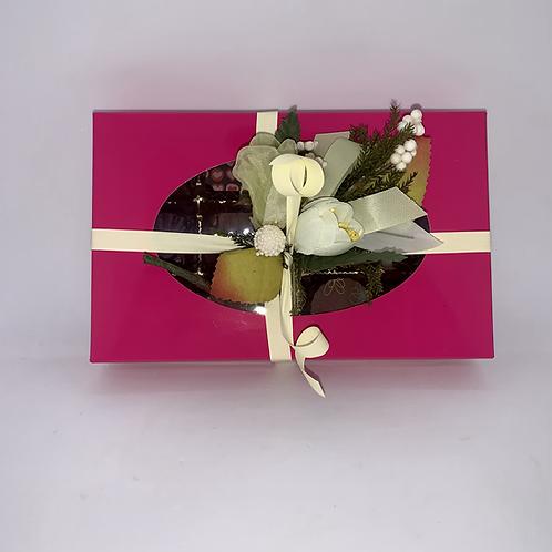 Boîte de 15 chocolats belges saveurs variées