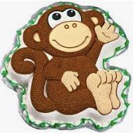 Moule à gâteau singe  #2