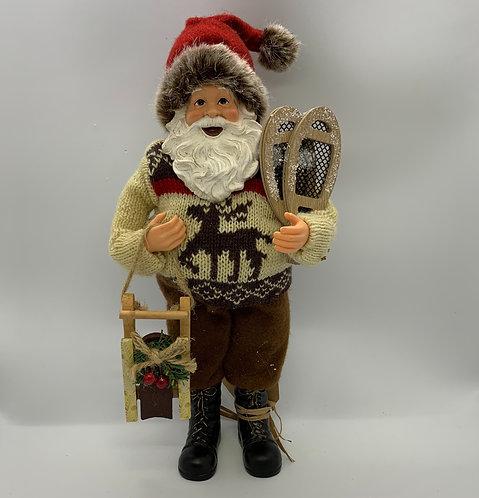 Père Noël raquettes