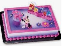Gâteau décopac Minnie Mouse (Cueillette en magasin)
