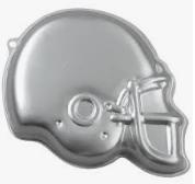 Moule à gâteau casque de football #205
