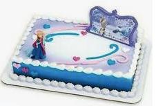 Gâteau décopac Reine des Neiges 2 (Cueillette en magasin)