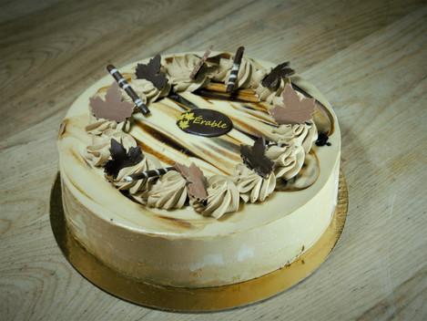 gâteau érable