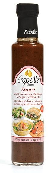 Sauce tomates séchées, vinaigre balsamique et huile d'olive Érabeille