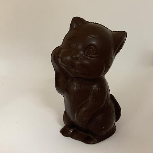 #24  chat en chocolat noir sans sucre