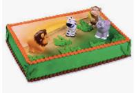 Gâteau Le zoo décopac (Cueillette en magasin)