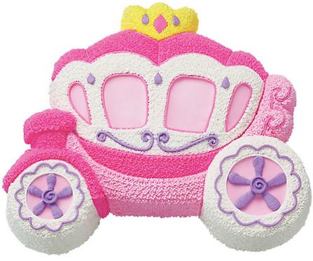 Moule à gâteau Carosse Princesse  #90