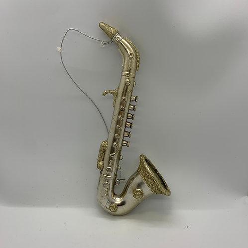 Ornement des fêtes saxophone