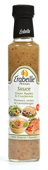Sauce pommes vertes et Canneberges Érabeille
