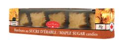 Bonbons à l'érable en sucre mou North Hatley 35 g.
