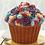 Thumbnail: Moule à gâteau Cupcake géant  #178 (Cueillette en magasin)