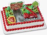 Gâteau Les pompiers (Cueillette en magasin)