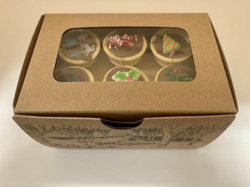 Cornets de chocolat belge au lait Noël (boîte)