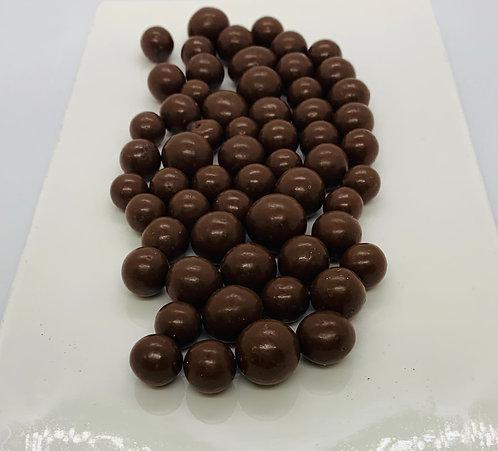 Bleuets enrobés de chocolat au lait