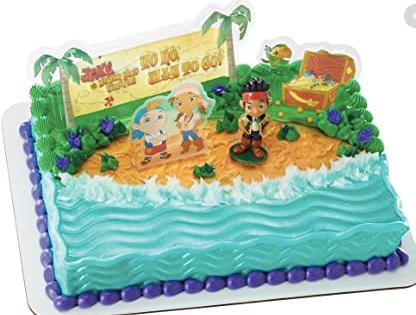 Gâteau Jack le pirate Décopac