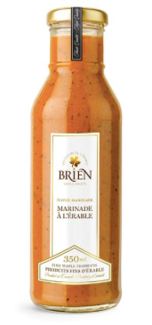 Marinade à l'érable 350 ml Douceurs de l'érable Brien