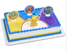 Gâteau Pikachu Décopac