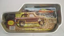 Moule à gâteau Pick-up camionnette  #196