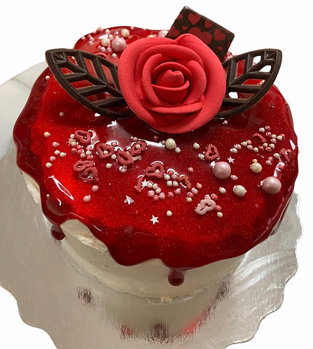 Gâteau St-Valentin petit rond