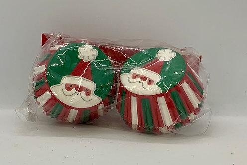 Mini caissettes du temps des fêtes Père Noël
