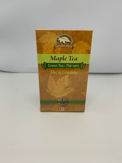 Thé vert à l'érable Canada True