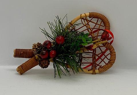 Raquettes décoratives du temps des fêtes